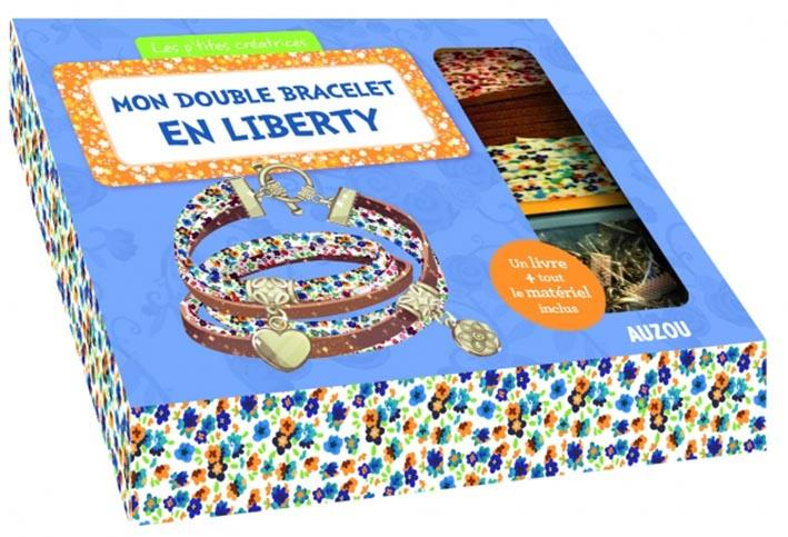 MON DOUBLE BRACELET EN LIBERTY - NOUVELLE EDITION Paris Mathilde Auzou